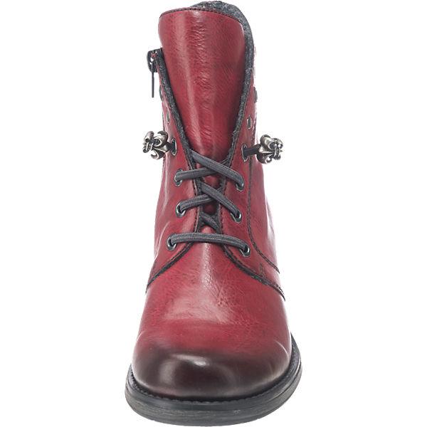 rieker, rieker Stiefeletten, rot  Schuhe Gute Qualität beliebte Schuhe  61795a