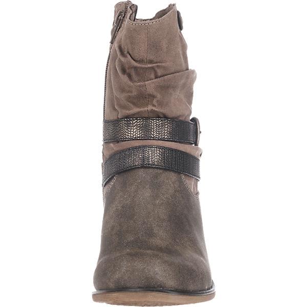 s.Oliver, s.Oliver Stiefeletten, beliebte braun  Gute Qualität beliebte Stiefeletten, Schuhe 792d64