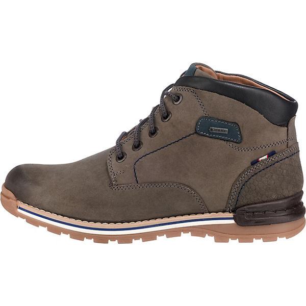 FRETZ men, Winterstiefeletten, grau/grün Schuhe  Gute Qualität beliebte Schuhe grau/grün 9fc120