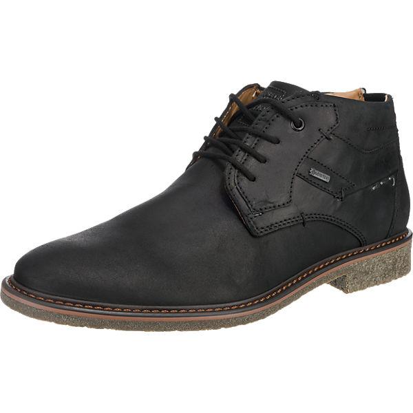 Haasow Angebote FRETZ men Andrew Freizeit Schuhe schwarz Herren Gr. 44