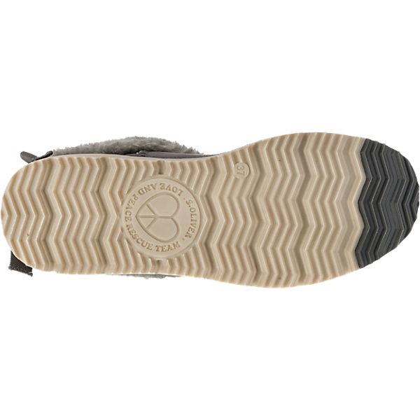 s.Oliver, s.Oliver Gute Stiefeletten, grau  Gute s.Oliver Qualität beliebte Schuhe 55ca6b
