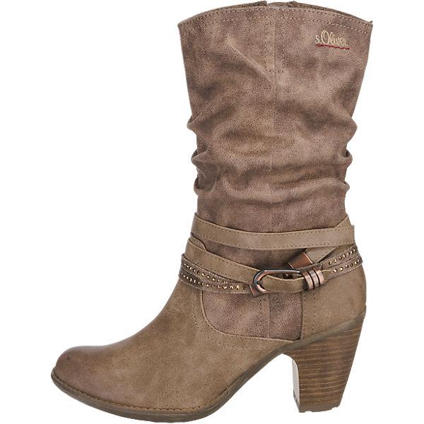 s.Oliver, s.Oliver Stiefel, braun beliebte  Gute Qualität beliebte braun Schuhe cb8f2b