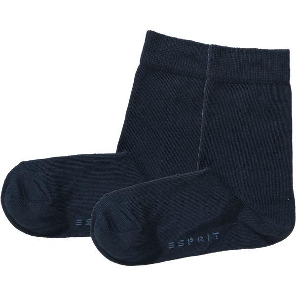 ESPRIT Socken Doppelpack für Jungen, Fuchs dunkelblau