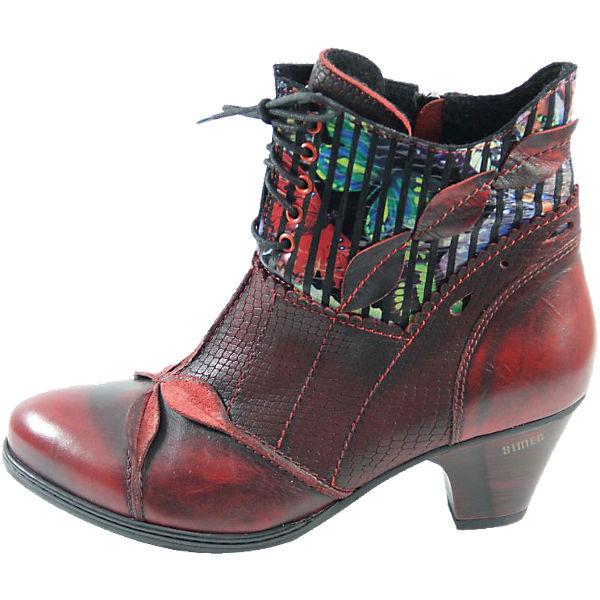 SIMEN, SIMEN Qualität Stiefeletten, rot-kombi  Gute Qualität SIMEN beliebte Schuhe 1b8129