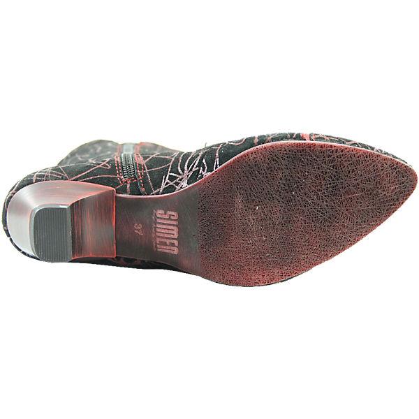 SIMEN, SIMEN Stiefeletten, rot-kombi Gute  Gute rot-kombi Qualität beliebte Schuhe 32e878