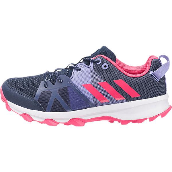 adidas Performance Laufschuhe kanadia 8.1 k für Mädchen dunkelblau