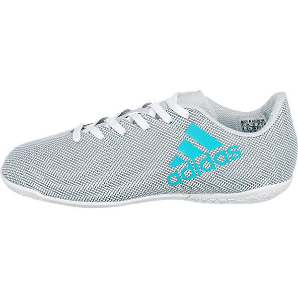 adidas Performance Fußballschuhe X 17.4 IN J für Jungen weiß