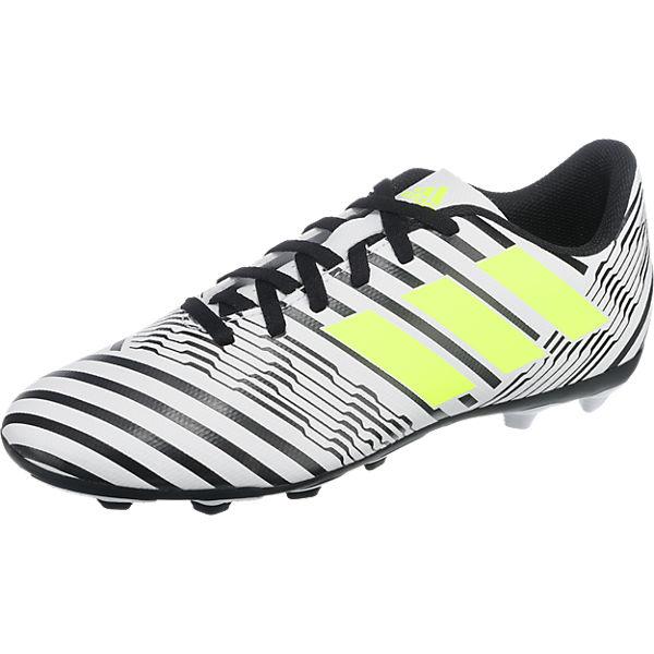 adidas Performance Fußballschuhe NEMEZIZ 17.4 FxG J für Jungen weiß