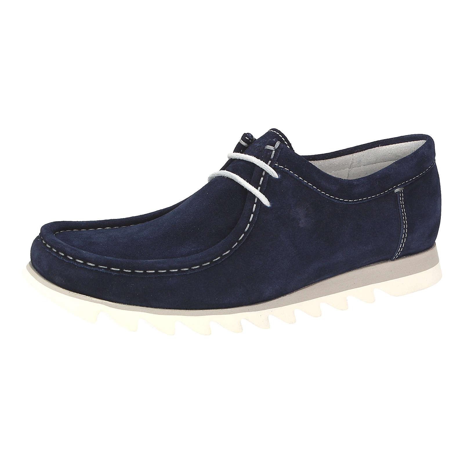 Sioux Grashopper-H-NG-VL Freizeit Schuhe blau Herren Gr. 45