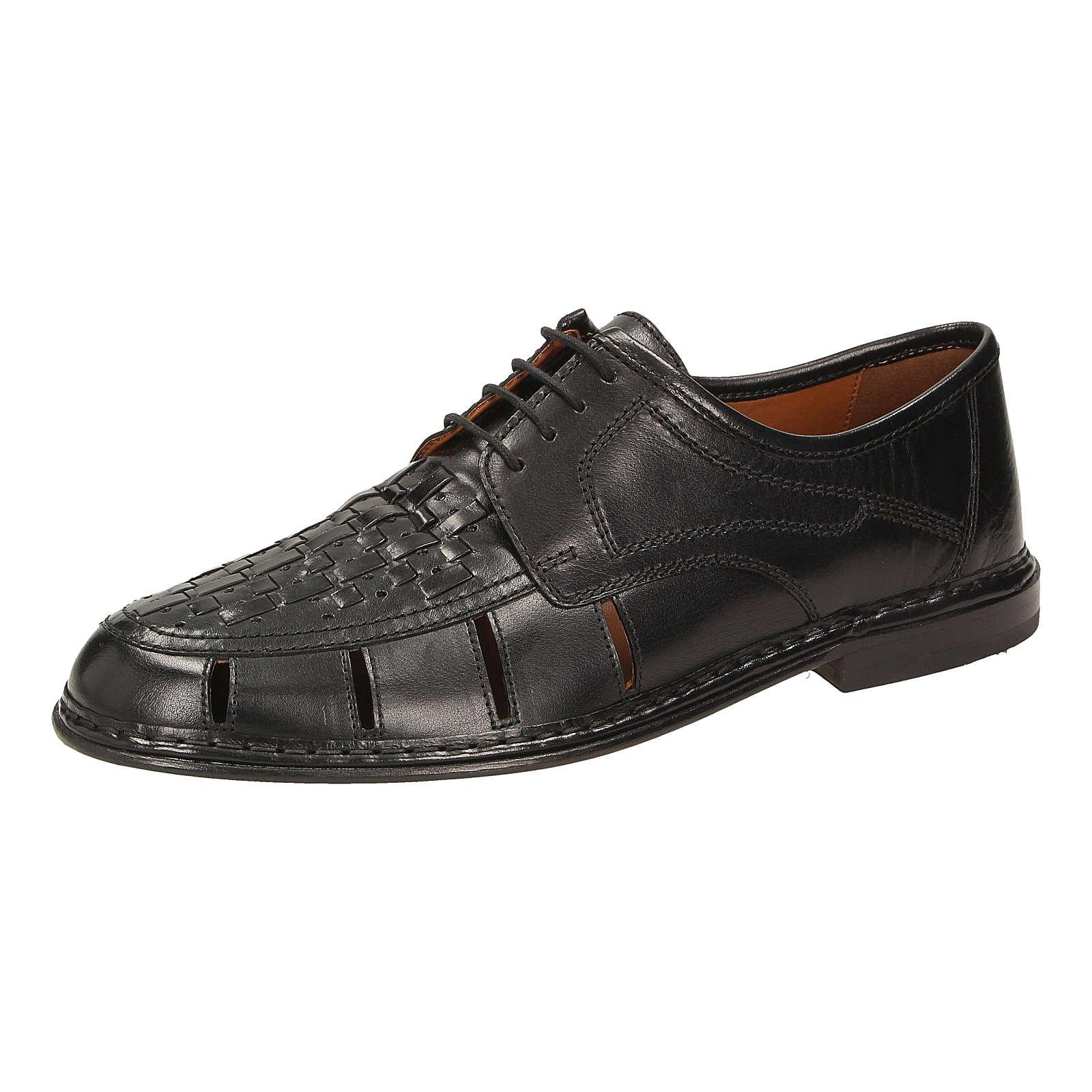 Sioux Aleson Freizeit Schuhe schwarz Herren Gr. 41