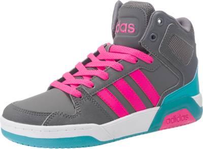 adidas high Sneaker weiß Textil Schuhe 37 Turnschuhe high