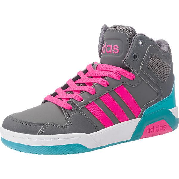 adidas NEO Sneakers High BB9TIS MID für Mädchen grau