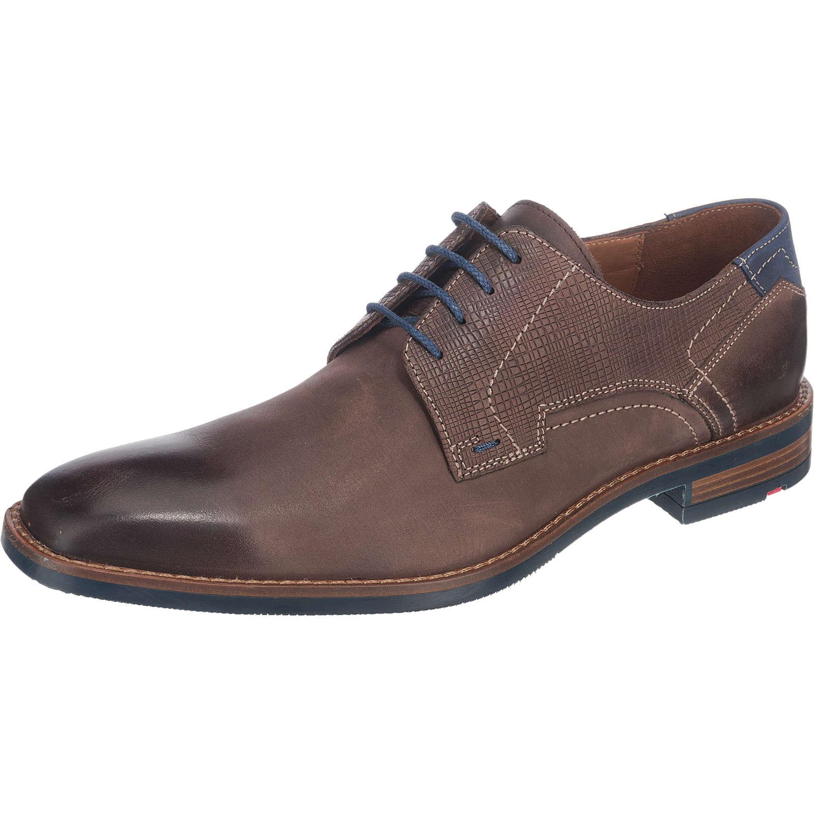 LLOYD Ike Business Schuhe braun Herren Gr. 44,5