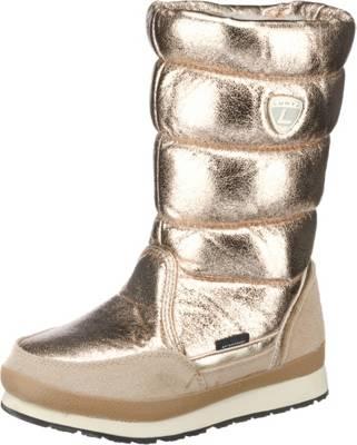 Goldene Stiefel Gr.30, wasserdicht, von Naturino, guter