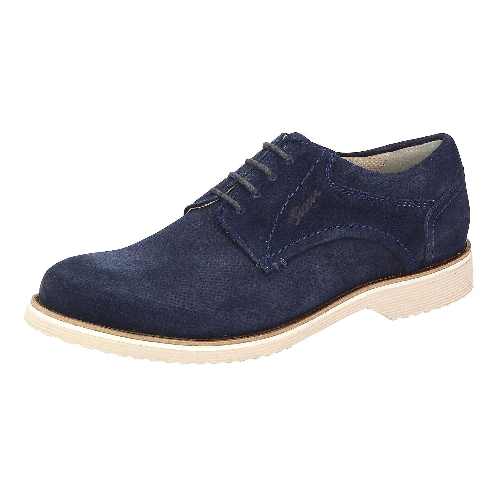 Sioux Dimitar-XL Freizeit Schuhe blau Herren Gr. 43