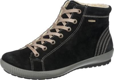 Legero superwarmer Damen Leder Stiefel schwarz, 13 cm Schaft