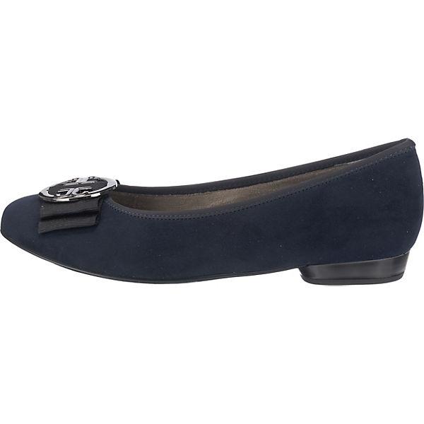 JENNY blau JENNY Pisa Ballerinas Klassische Pisa Ballerinas blau Klassische AOqO8Ivx