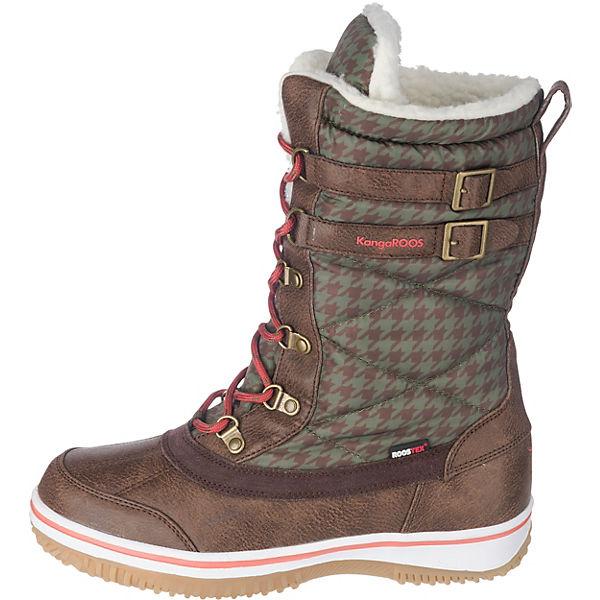 KangaROOS, Rivaska  Winterstiefel, braun-kombi  Gute Gute Gute Qualität beliebte Schuhe 895655
