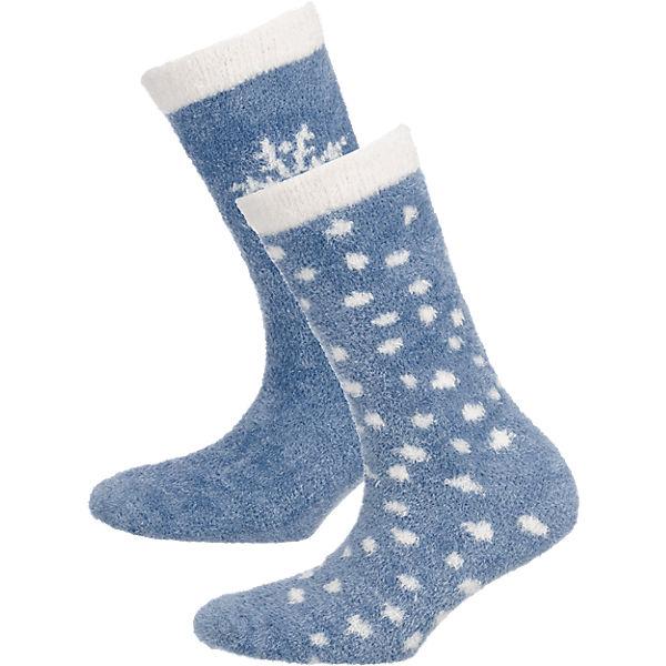 Socken camano camano grau 2 Paar wwUBq6S