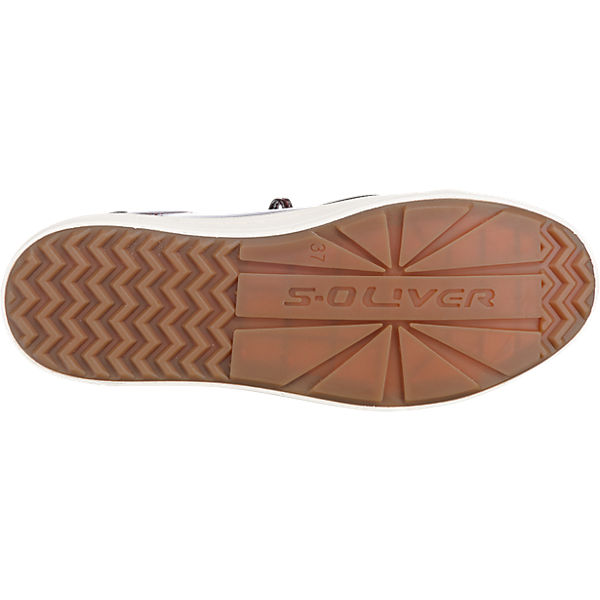 s.Oliver s.Oliver Slipper bordeaux