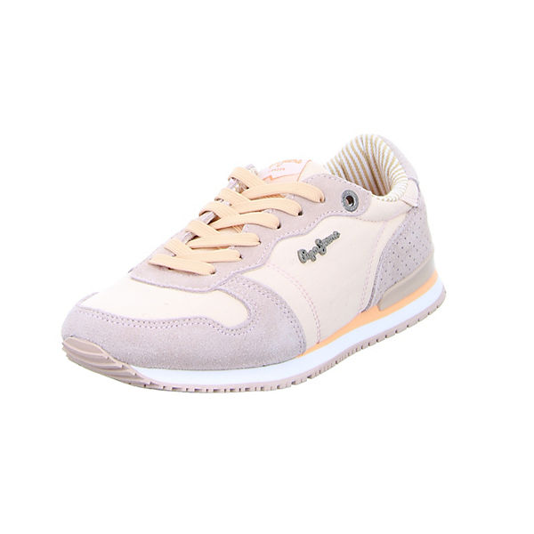 Pepe Jeans Sneakers rosa Damen Gr. 40 Sale Angebote Drebkau