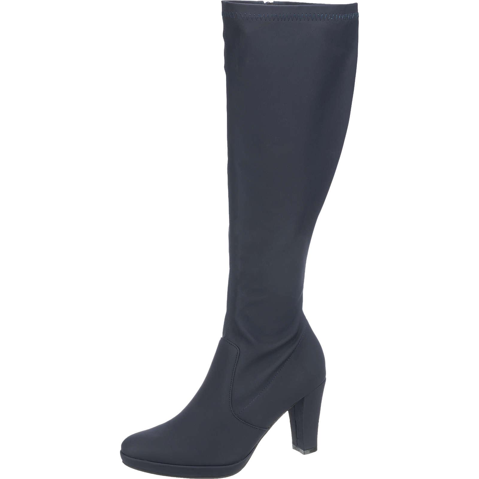 Andrea Conti Stiefel dunkelblau Damen Gr. 40 jetztbilligerkaufen
