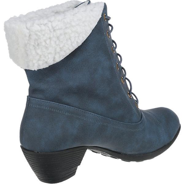 Andrea Conti Andrea Conti Stiefeletten blau