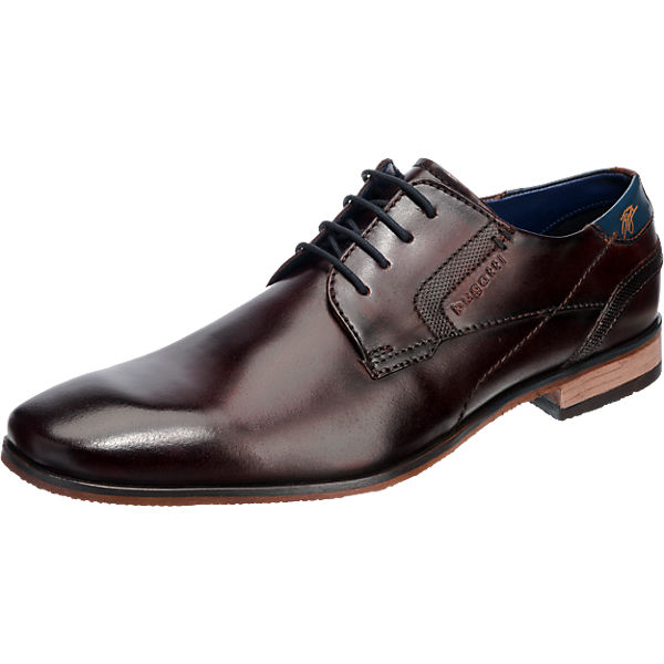 bugatti bugatti Business Schuhe dunkelbraun