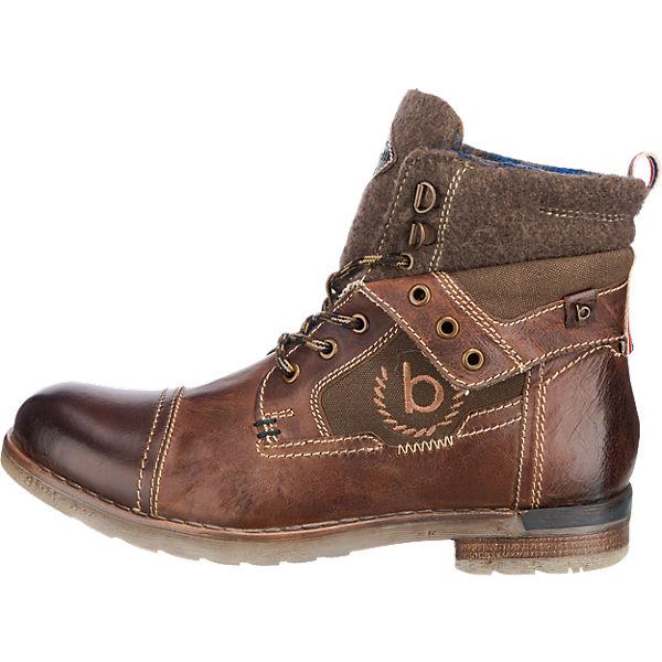 bugatti, bugatti Stiefeletten, dunkelbraun  Gute Qualität beliebte Schuhe