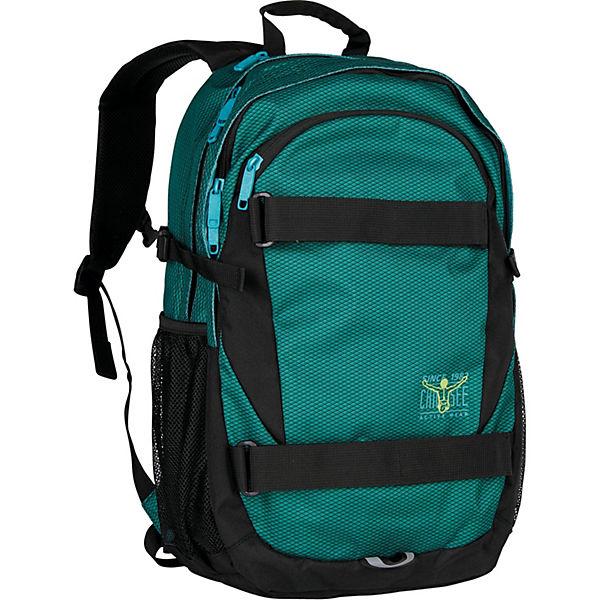 CHIEMSEE Hyper Rucksack 50 cm Laptopfach grün