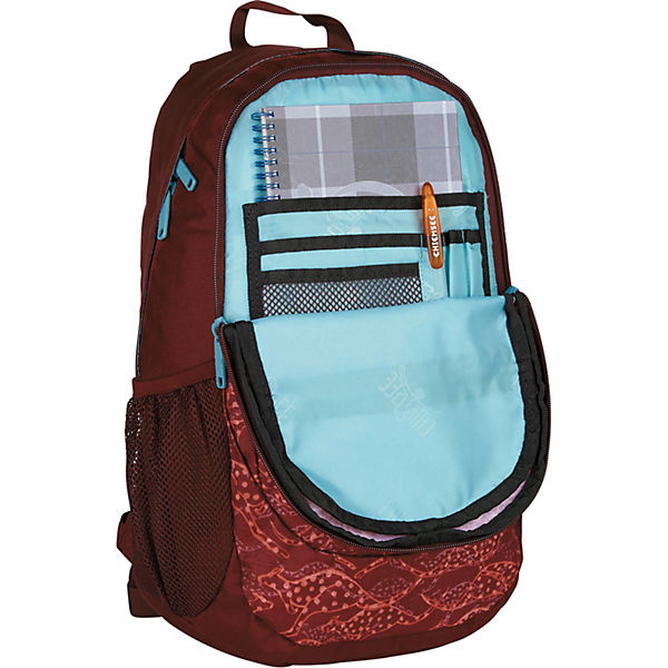 CHIEMSEE Techpack Two Rucksack 48 cm Laptopfach rot-kombi