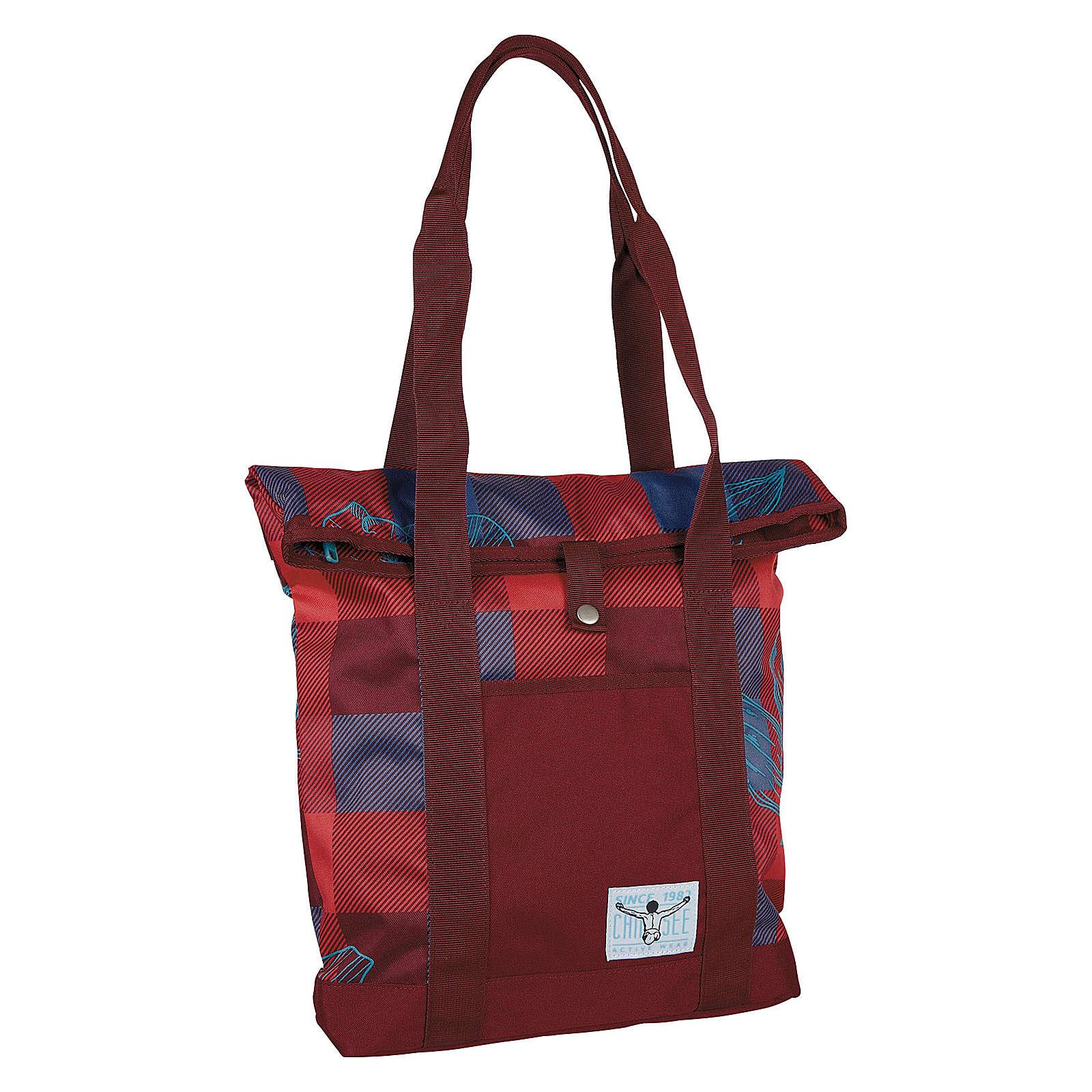 CHIEMSEE Backpack Shopper Tasche 39 cm rot-kombi Damen