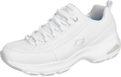 SKECHERS 'D'Lite Ultra-Illusions' Sneakers weiß