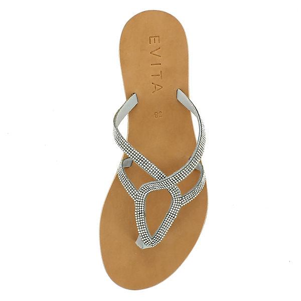 Evita Shoes, Evita Shoes Sandalen, grau Schuhe  Gute Qualität beliebte Schuhe grau c612b7