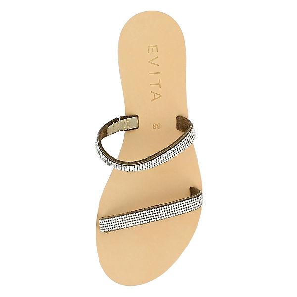 Evita Shoes Evita Shoes Sandalen hellbraun