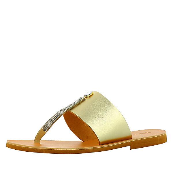 gold Evita Shoes Sandalen Shoes Evita SOWqfgzwW