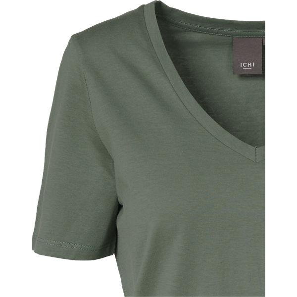 Shirt ICHI Shirt T T grün ICHI TqWdFF
