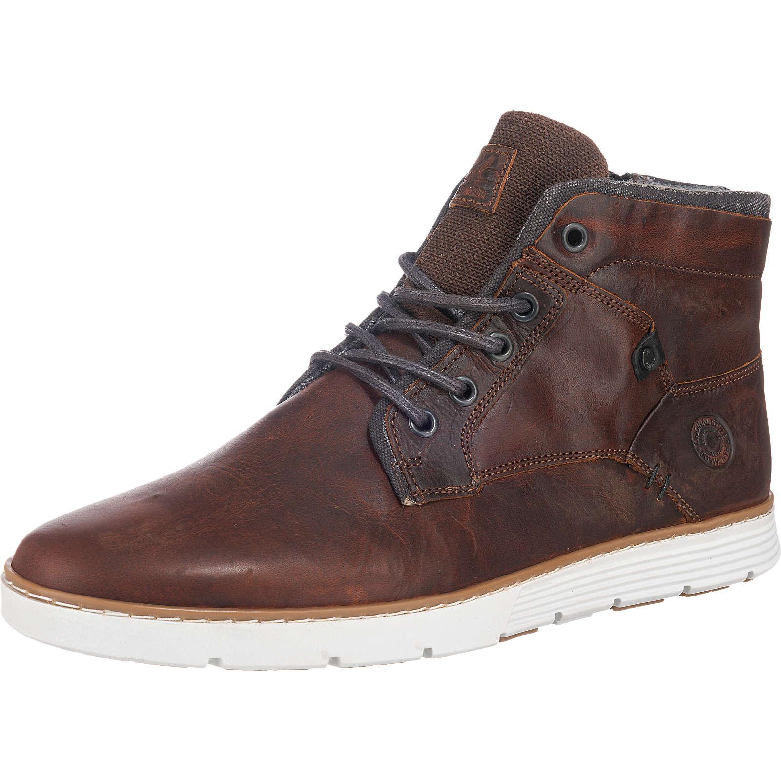 BULLBOXER Sneakers dunkelbraun Herren Gr. 41