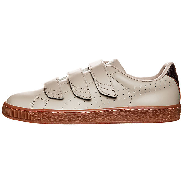 PUMA beige Classic Puma Basket Strap Citi Sneakers qq78zr