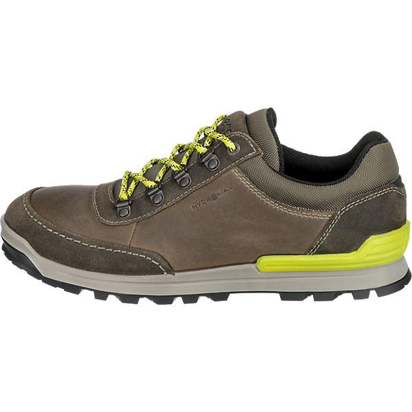 ecco ecco Oregon Freizeit Schuhe braun-kombi