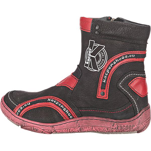 Kacper Kacper Stiefeletten schwarz  Gute Qualität beliebte Schuhe