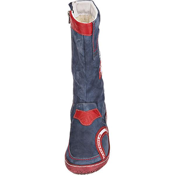 Kacper Kacper Stiefel blau-kombi  Gute Qualität beliebte Schuhe Schuhe Schuhe d0f70a