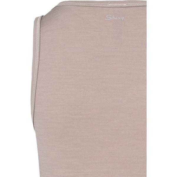 Skiny beige Wool Unterhemd Active Women rx7rqaU