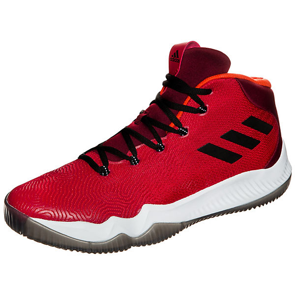 adidas Performance adidas Crazy Hustle Basketballschuhe rot