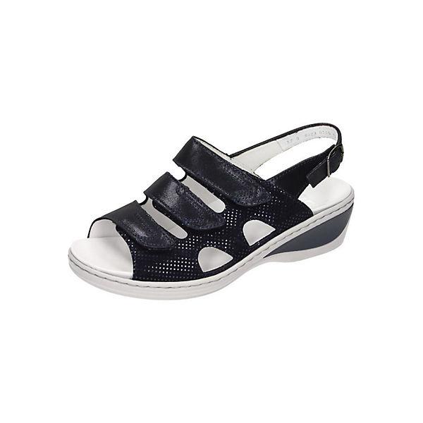 Haasow Angebote ara Sandaletten schwarz Damen Gr. 40