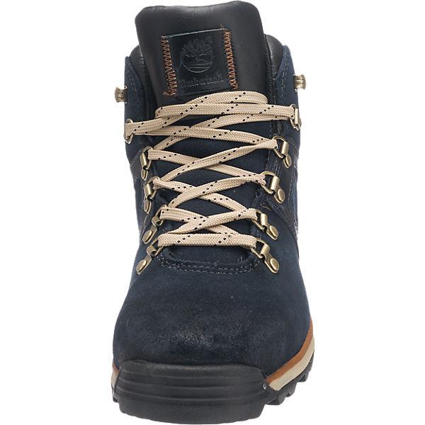 Ek Leather Timberland Mid Timberland Stiefel amp; Stiefeletten blau 5HRBTwqT