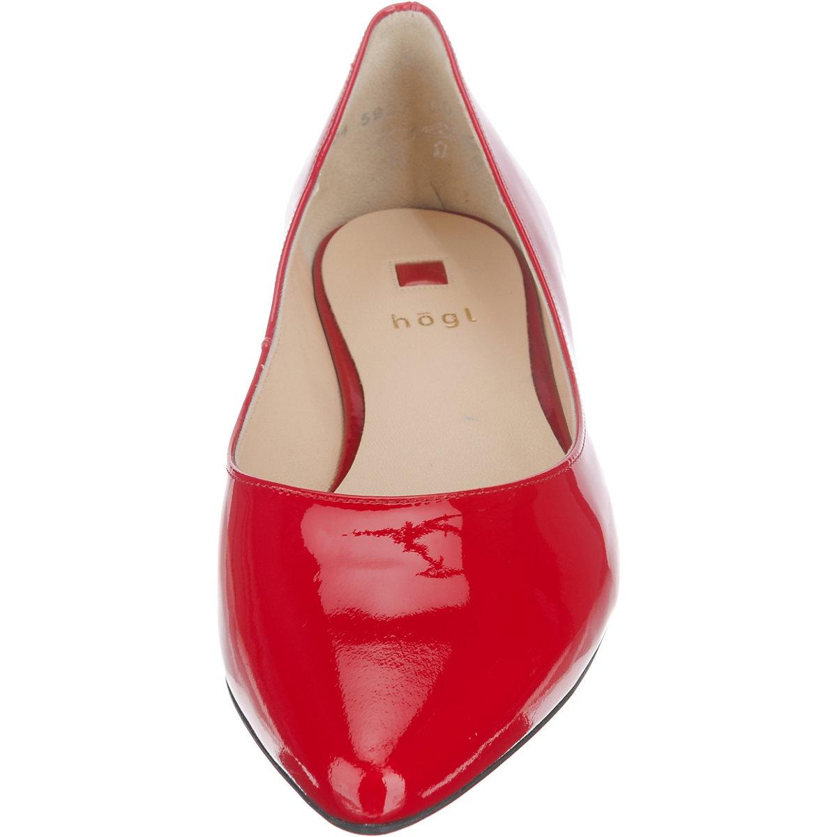 högl Klassische Ballerinas rot