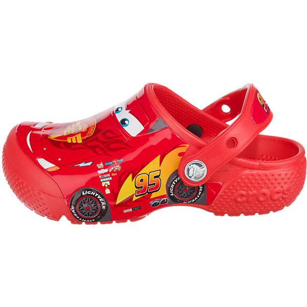 crocs Clogs Disney Cars FunLab für Jungen rot