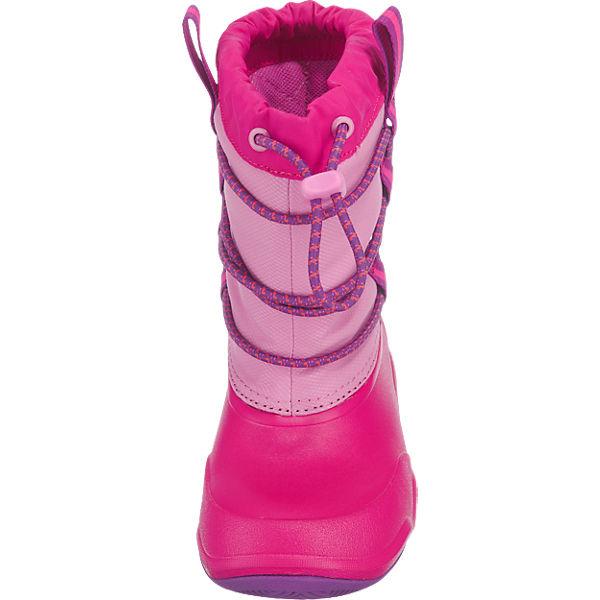 crocs winterstiefel swiftwater waterproof boot f r m dchen gef ttert pink mirapodo. Black Bedroom Furniture Sets. Home Design Ideas