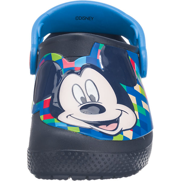 crocs Kinder Clogs Disney Mickey Mouse FunLab dunkelblau